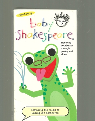 Baby Shakespeare Beethoven Vhs Tape