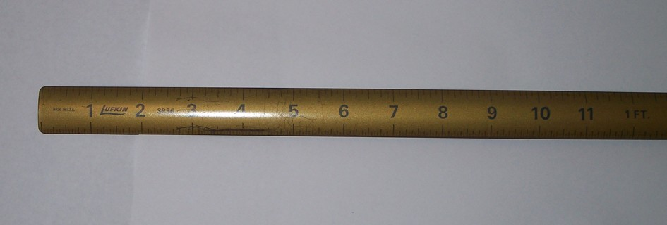 Lufkin Roll Up Yardstick Ruler SRMetal by LaurasLastDitch - Etsy