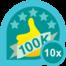 100k club 10
