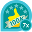 100k club 7x