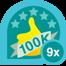 100k club 9x