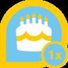 Listia birthday 1x