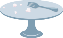 Empty platter