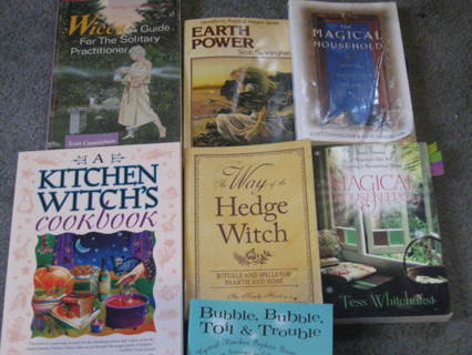 Free: 7 Wiccan Books - Other Books - Listia com Auctions for