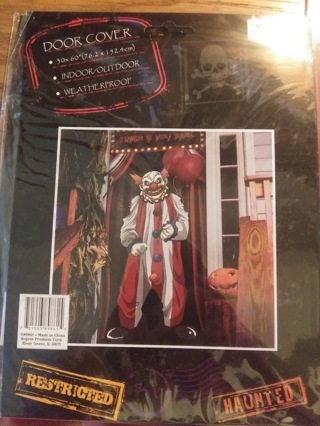 Clown Door Cover