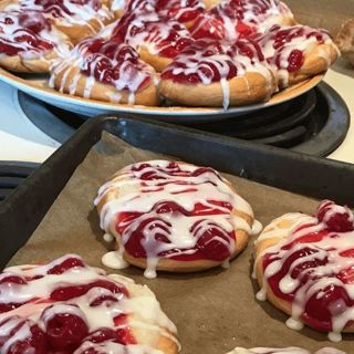 MINI CHERRY CHEESE DANISH RECIPE