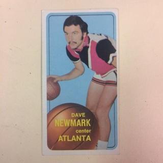 1970-71 Topps #156 C Dave Newmark - Atlanta Hawks