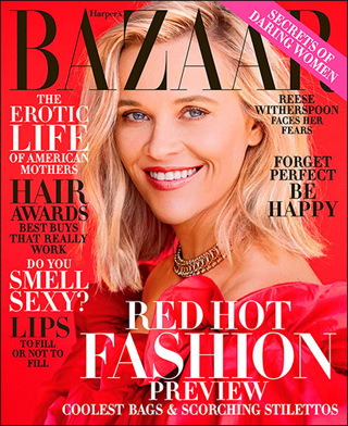 Lowered GIN! HARPER'S BAZAAR Magazine TWO Year (20 issues) Subscription