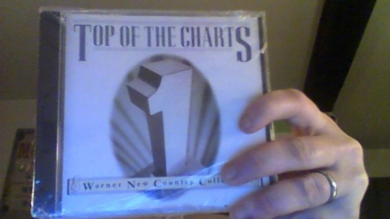 new top of the country charts cd