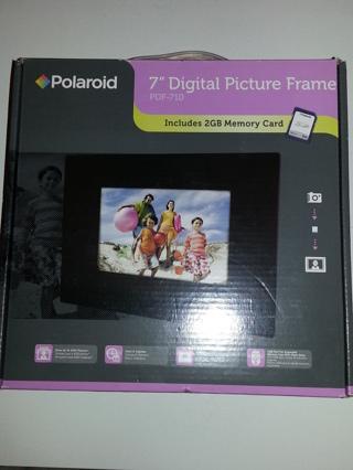 Free Polaroid 7 Digital Picture Frame Pdf 710 Remote 2gb Memory