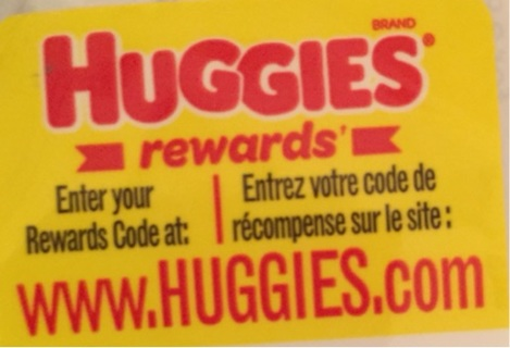 Huggies rewards code