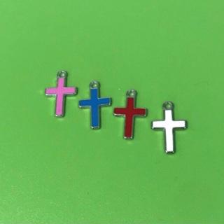 4 Color Cross Pendants