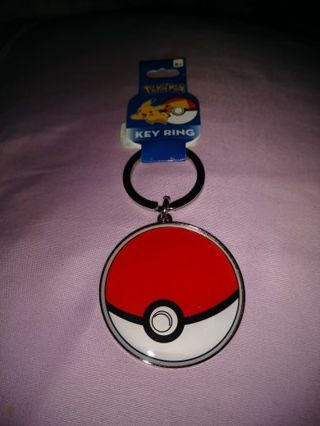 ❤✨❤✨❤BRAND NEW LARGE METAL POKÉMON (POKEBALL) KEYCHAIN❤✨❤✨❤