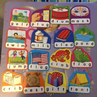 Free: Lakeshore 4-Letter Word Building Puzzles - Textbooks ...