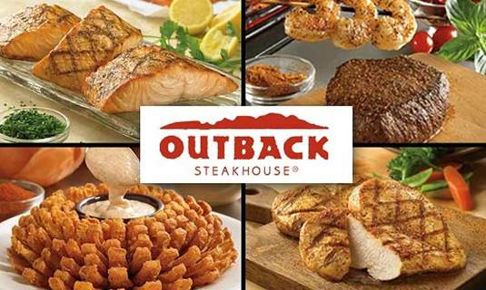 Outback Gift card $200 on ONE CARD It also works at Flemings, Carrabbas and Bonefish grill