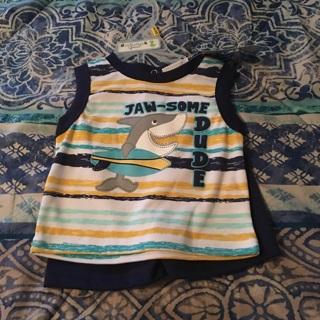 Infant boys Shortset 6/9 months