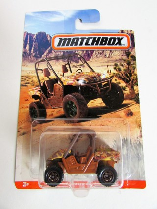 NEW!!! MATCHBOX CAMO SERIES YAMAHA RHINO
