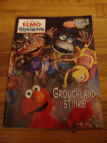 Free New Elmo In Grouchland Coloring Book