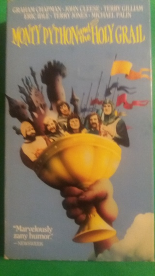 vhs monty python and the holy grail free shipping