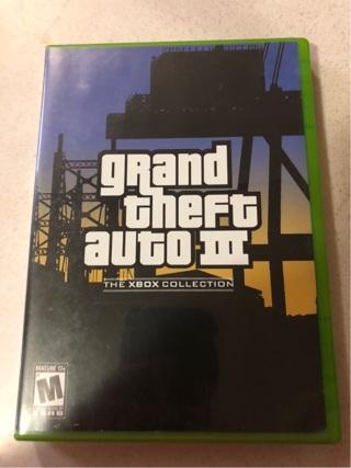 Xbox Grand Theft Auto III