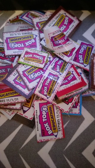 *FLASH AUCTION* Box Tops For Education