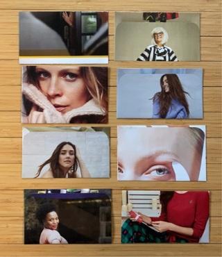 8 Women Themed Envelopes