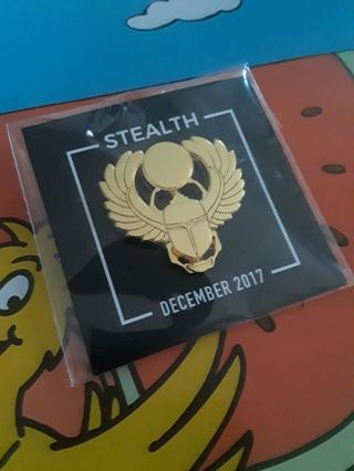 LOOT GAMING EXCLUSIVES...STEALTH DECEMBER 2017 PIN...BRAND NEW...FREE SHIPPING WITH TRACKING...