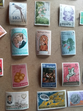 322# Worldwide Stamp Lot MWH