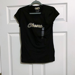 Brand New G by Guess Women's Juniors Cheers Top - Size L