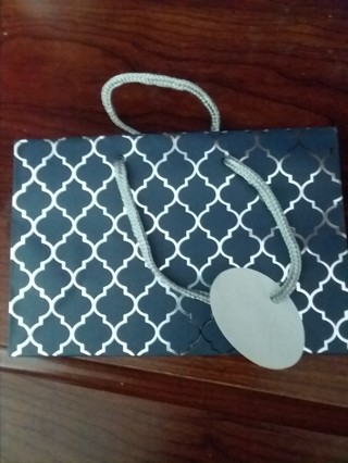 Small new gift bag with tag