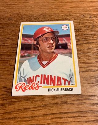 1978 Topps Rick Auerbach