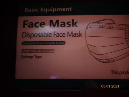 25 face masks