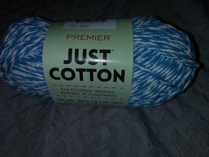 Premier Just Cotton-Turquoise Marl