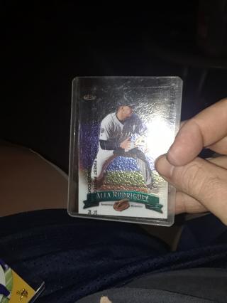 Alex rodriguez card