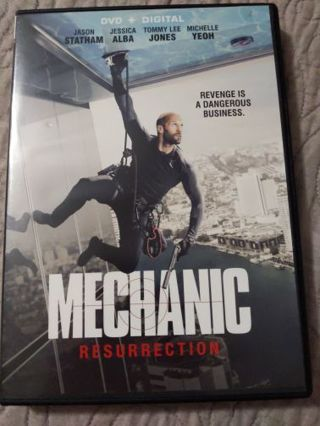 DVD Mechanic Resurrection