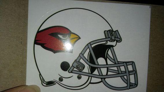 NFL Arizona Cardinals sticker