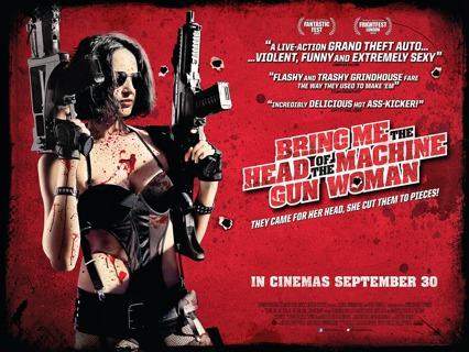 Bring Me The Head of The Machine Gun Woman - Vudu HD Digital Copy Code