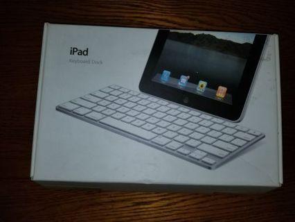 New Apple iPad Keyboard Dock FREE SHIPPING