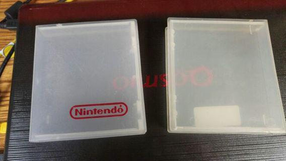 4 NES hard shell cases