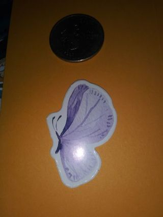 Butterfly scrap book sticker No refunds! Good quality! Lowest gins no lower!