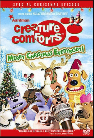 Creature Comforts Christmas DVD