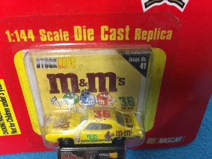 L477 M&M's MINI STOCK ROD 1:144 '69 GTO RACING CHAMPIONS