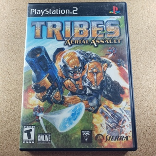 Tribes - Aerial Assault - PS2 Game