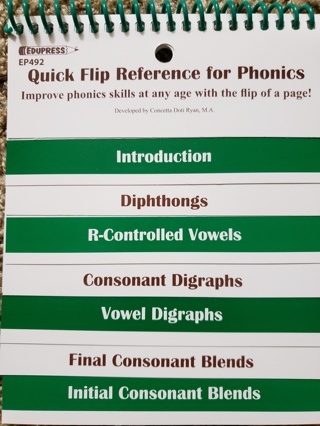 Quick flip phonics
