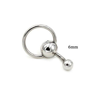 1pc Stainless Steel Sexy Belly Button Ring Navel Silver Ball Rings Body Jewelry