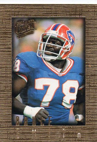 BRUCE SMITH - 1996 ULTRA  SENSATIONS GOLD FOIL #11 - MINT - BUFFALO BILLS - FREE S/H