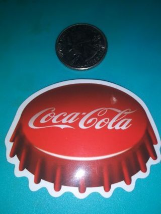Coca Cola nice new vinyl lab top sticker lowest gins stop by and see! No refunds!