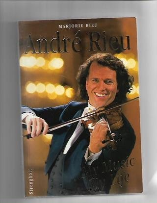 ANDRE' RIEU /MY MUSIC MY LIFE/BOOK