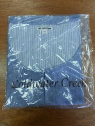 Cold water creek SLEEVELESS blouse / top ( brand new ) 100% authentic ! FREE SHIPPING