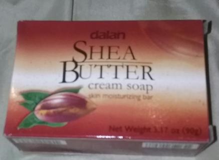 Dalan Shea Butler Cream Soap 3.7oz New
